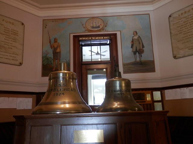 Spirit of '76 & Maritime Museum Abbot Hall Marblehead