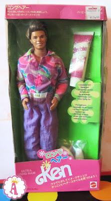 Кукла кен из 90х обзор игрушек барби Mattel