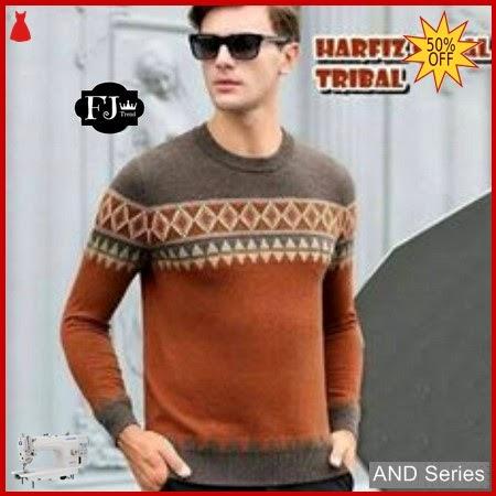 AND399 Pakaian Pria Polo Shirt Harfiz Coral BMGShop
