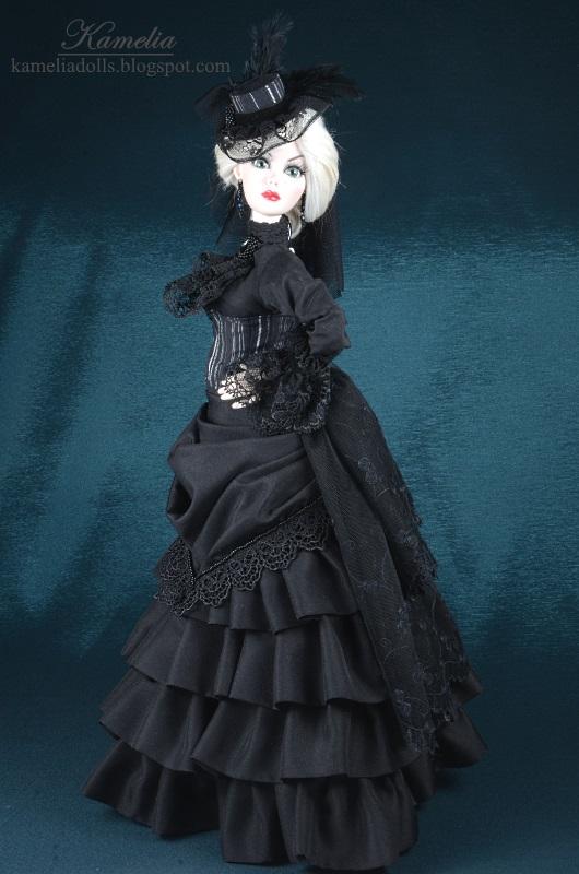 Black dress for Evamgeline Ghastly.
