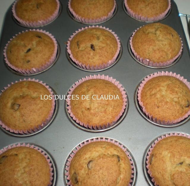cupcakes de platano