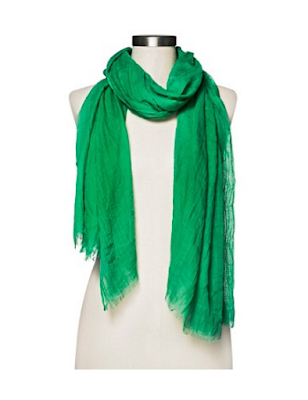 St. Patrick's Day Fashion Inspired Ideas. Target Merona Basic Oblong Scarf