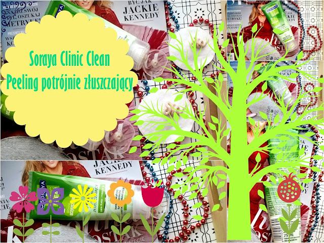 Soraya Clinic Clean Peeling potrójnie złuszczający