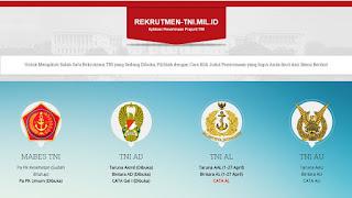 Syarat-Syarat yang Harus Dipenuhi Oleh Calon Perwira Prajurit Karier TNI 2017