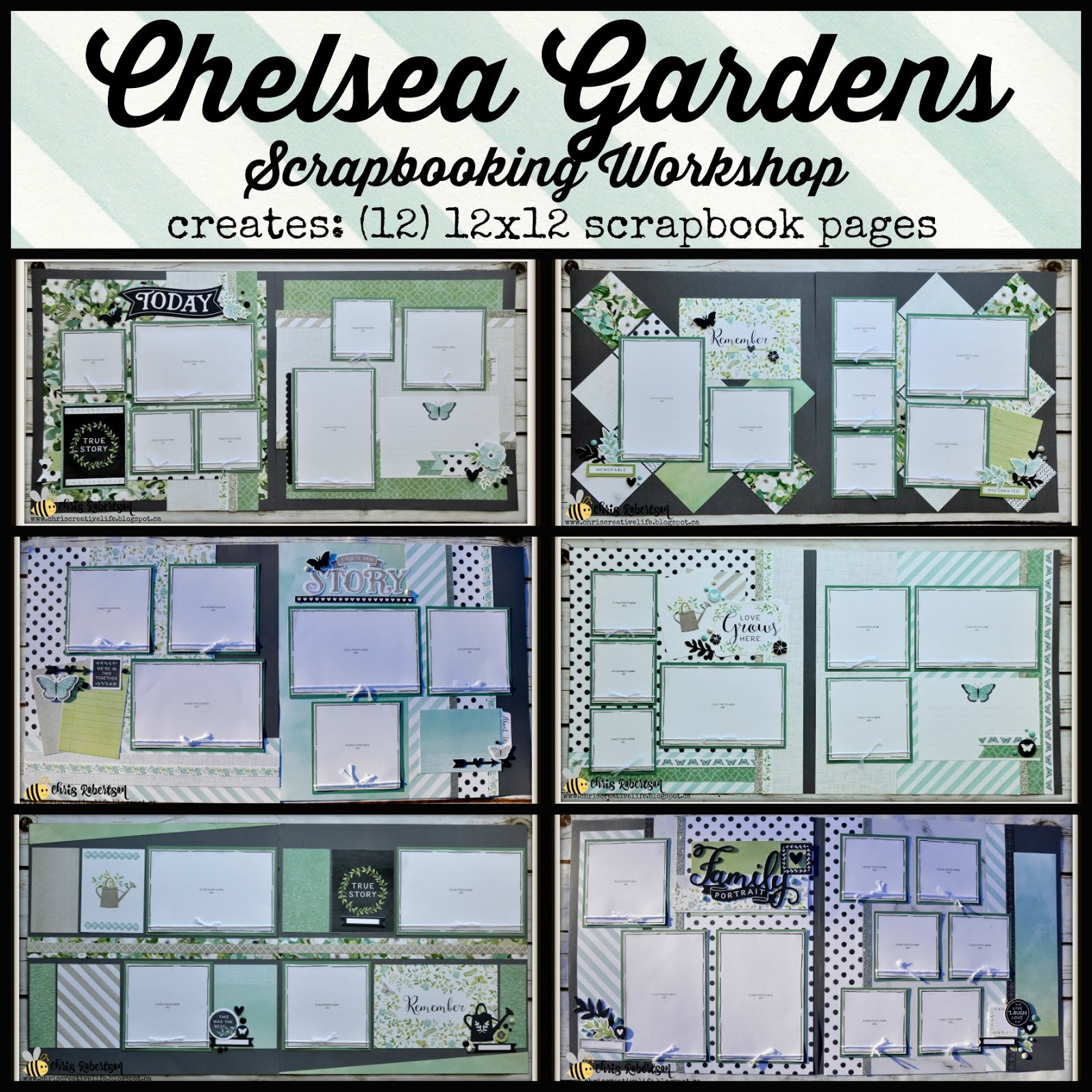 Chelsea Gardens Scrapbooking Workshop