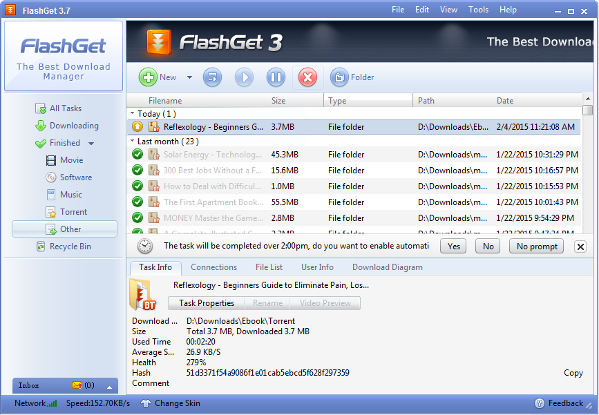 FlashGet Best Download Manager