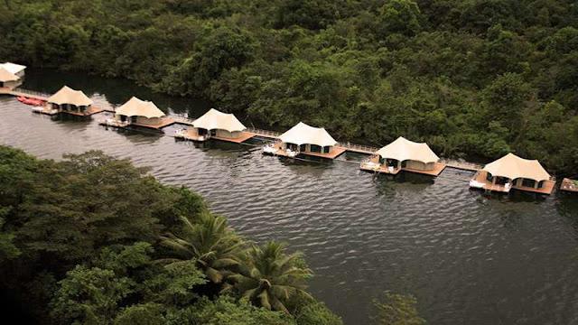 Floating Lodges