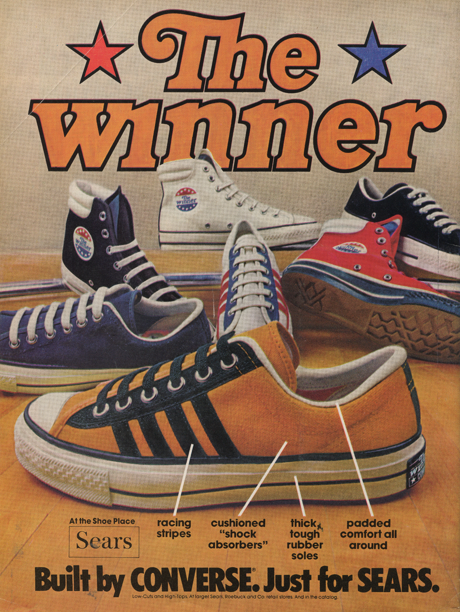 Converse Shoes Advertisement