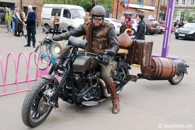 мотоциклы в стиле стимпанк