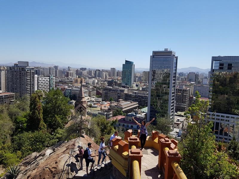 O que fazer em Santiago: Cerro Santa Lucia