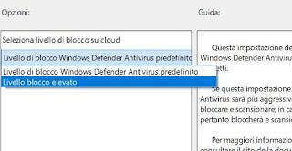 aumentare protezione windows 10