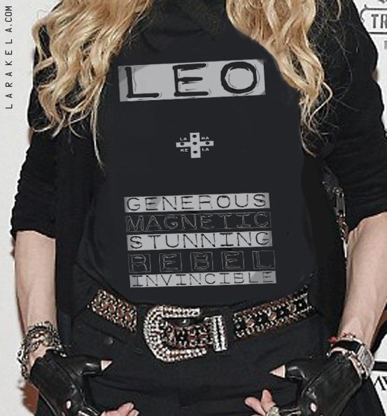 Madonna LEO genius