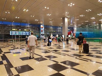 El aeropuerto de Singapur por dentro