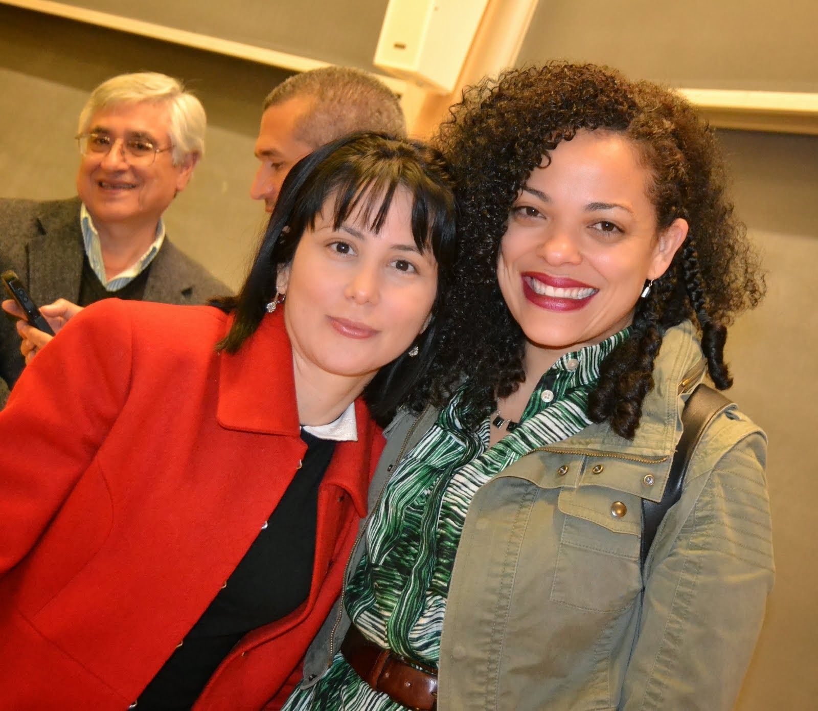 Con Wendy Guerra @ Dartmouth College (oct. 2013)