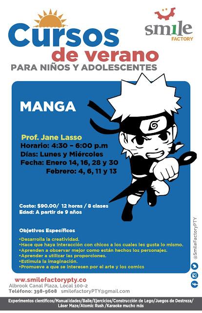 Curso manga en Panamá