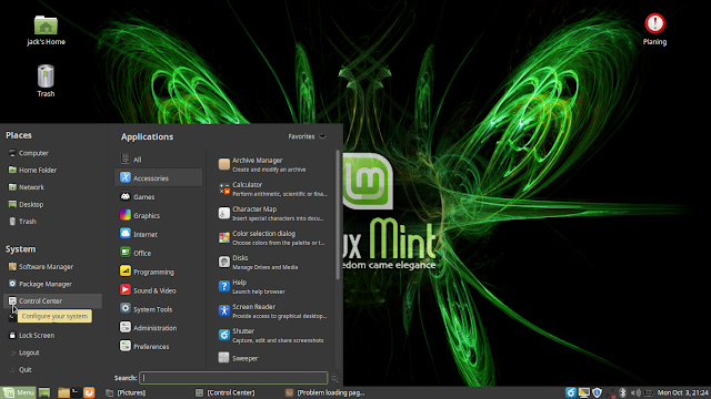 Setting Time and Date di Linux Mint