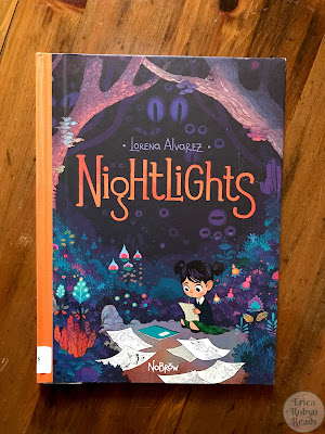 Graphic Novel Review of Nightlights by Lorena Alvarez Gomez