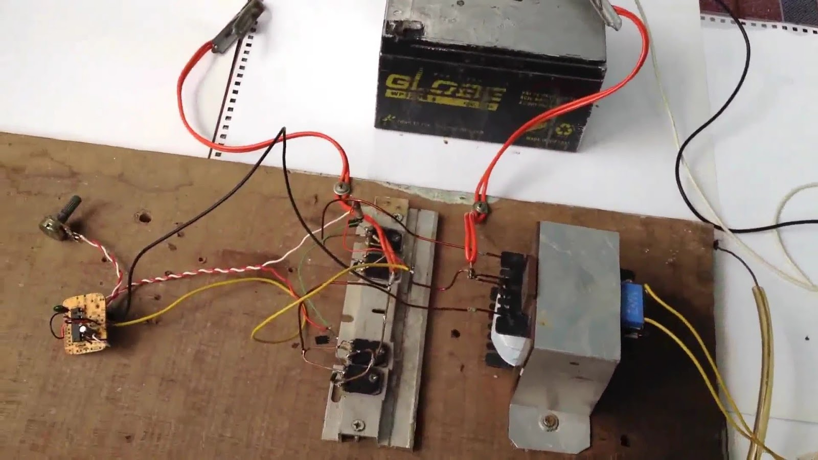 How to make an Inverter 12v to 220v AC using IC TL494