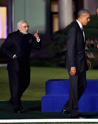 PM Modi and Barack Obama