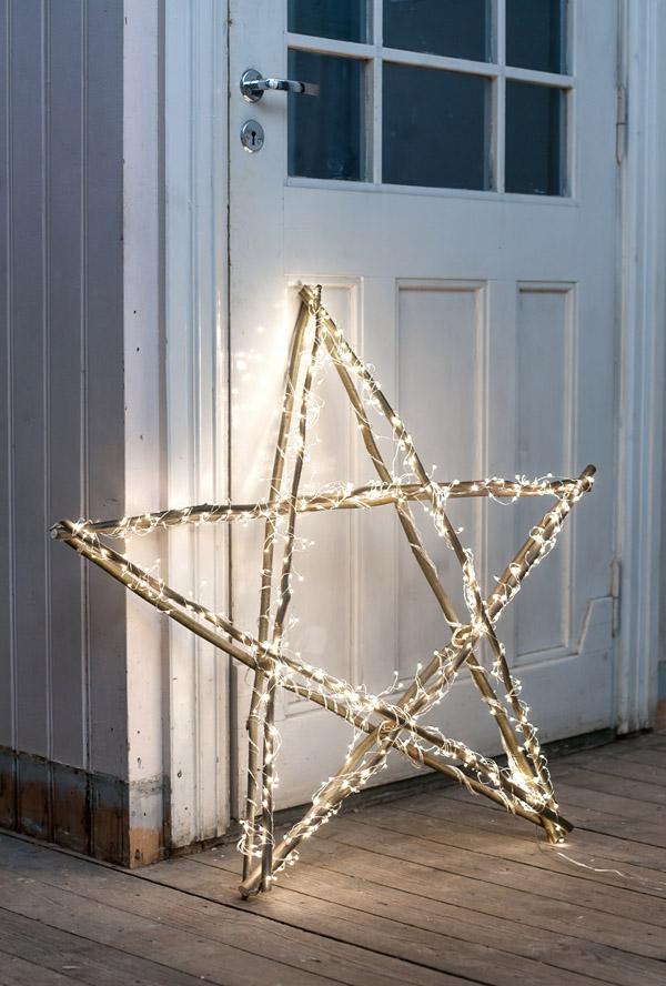 BrightChristmas Star | Breathtakingly Rustic Homemade Christmas Decorations