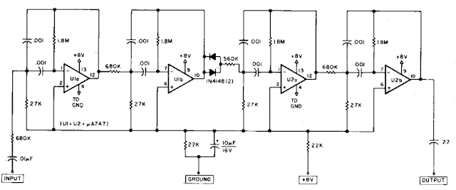 Razor-sharp CW filter Circuit Diagram