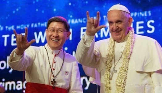 Saludo en lenguaje de señas del Papa Francisco