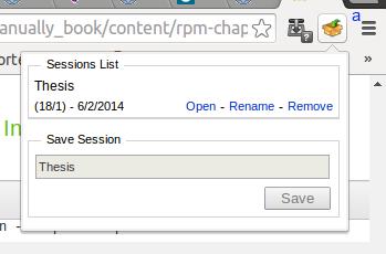 Tutorial menyimpan session browsing tab di chrome - Newbie Note