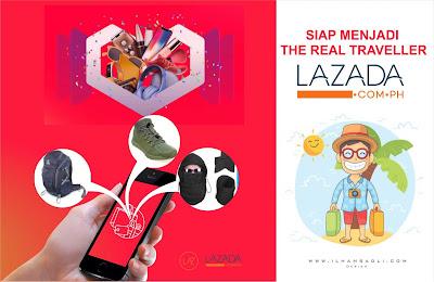 Siap Menjadi The Real Traveller Dengan Manfaatin Big Promo Lazada 11.11