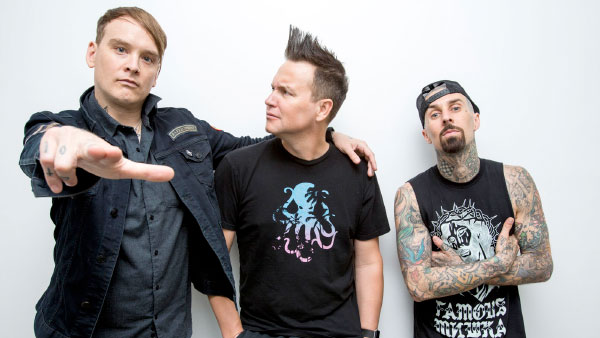 """blink-182 stream new song """"Wildfire"""""""