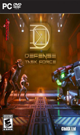 Defense Task Force Sci Fi Tower Defense PC Cover - Defense Task Force Sci Fi Tower Defense Update v1.08.00-CODEX