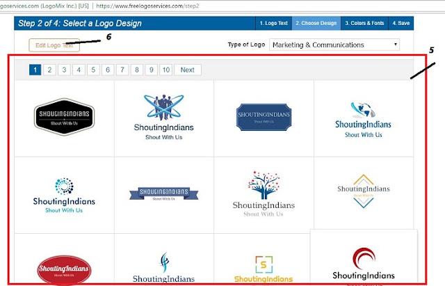 free me blog aur website ka logo kaise banaye 12