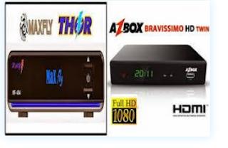 Atualizacao modificada Bravissimo Twin em Maxfly thor v