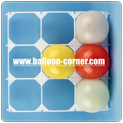 Grid Untuk Balon Dinding (9 Lubang)