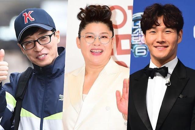 Daftar Bintang Variety Show Paling Populer di Bulan Mei 2019