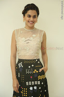 Taapsee Pannu in transparent top at Anando hma theatrical trailer launch ~  Exclusive 104.JPG