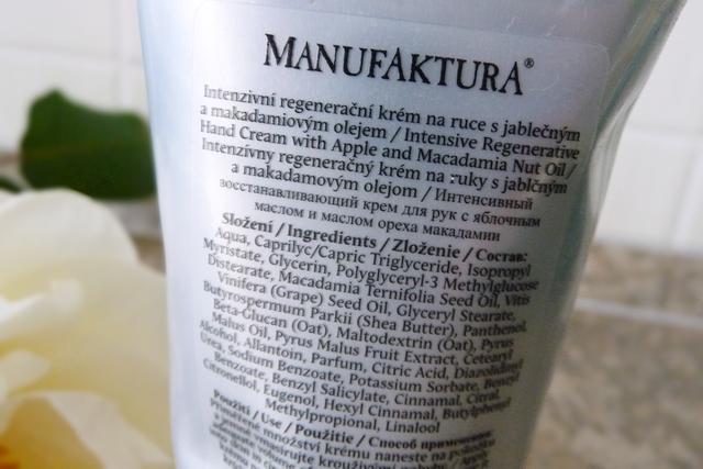 Manufaktura - Regenerační krém na ruce Jablko