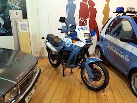 Moto Guzzi 750 X PA Police Motorcycle