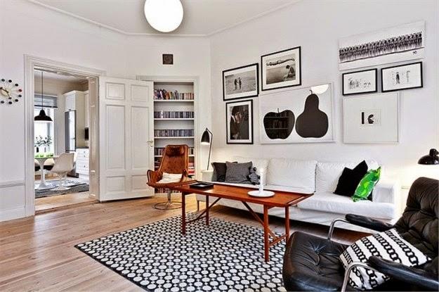 Salas en estilo n rdico colores en casa - Mobili norvegesi ...