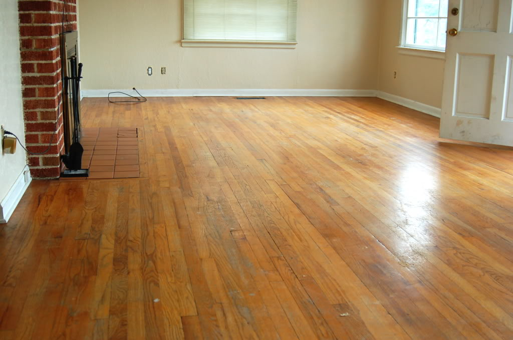Old Hardwood Floor Refinishing