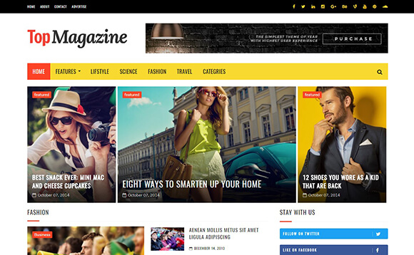 Top Magazine Templates Free Download GebTech Solutions