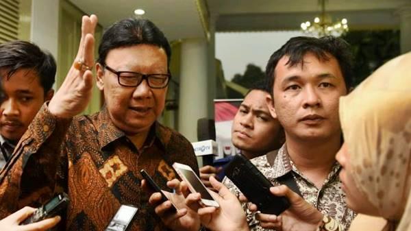 Tjahjo: Saya Bagian Rezim Jokowi Tersinggung dengan Ucapan Simpatisan Ahok