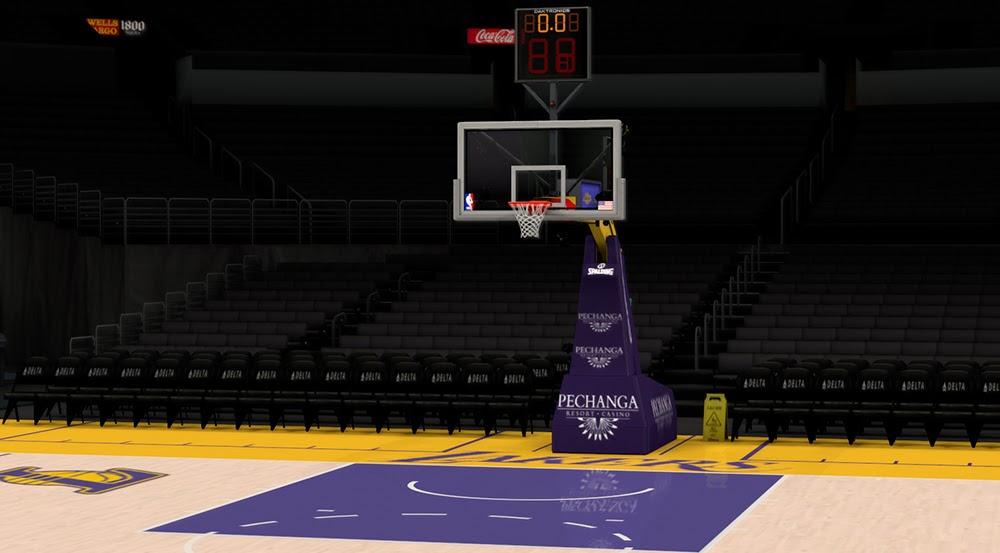 Nba 2k14 Los Angeles Lakers Court Update Nba2k Org