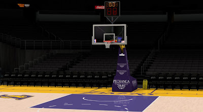 NBA 2K14 Los Angeles Lakers Court Mod