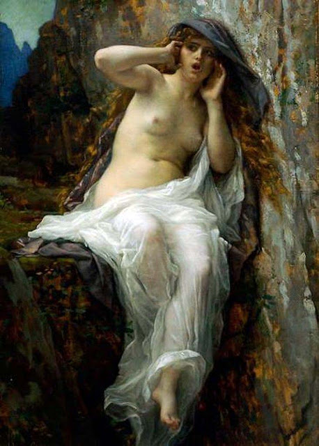 Alexandre Cabanel, Classical mythology, Greek mythology, Roman mythology, mythological Art Paintings, Myths and Legends