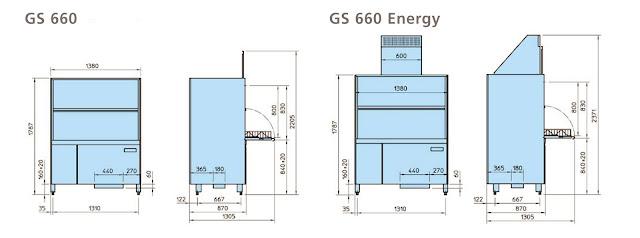 Máy rửa chén công nghiệp GS 660