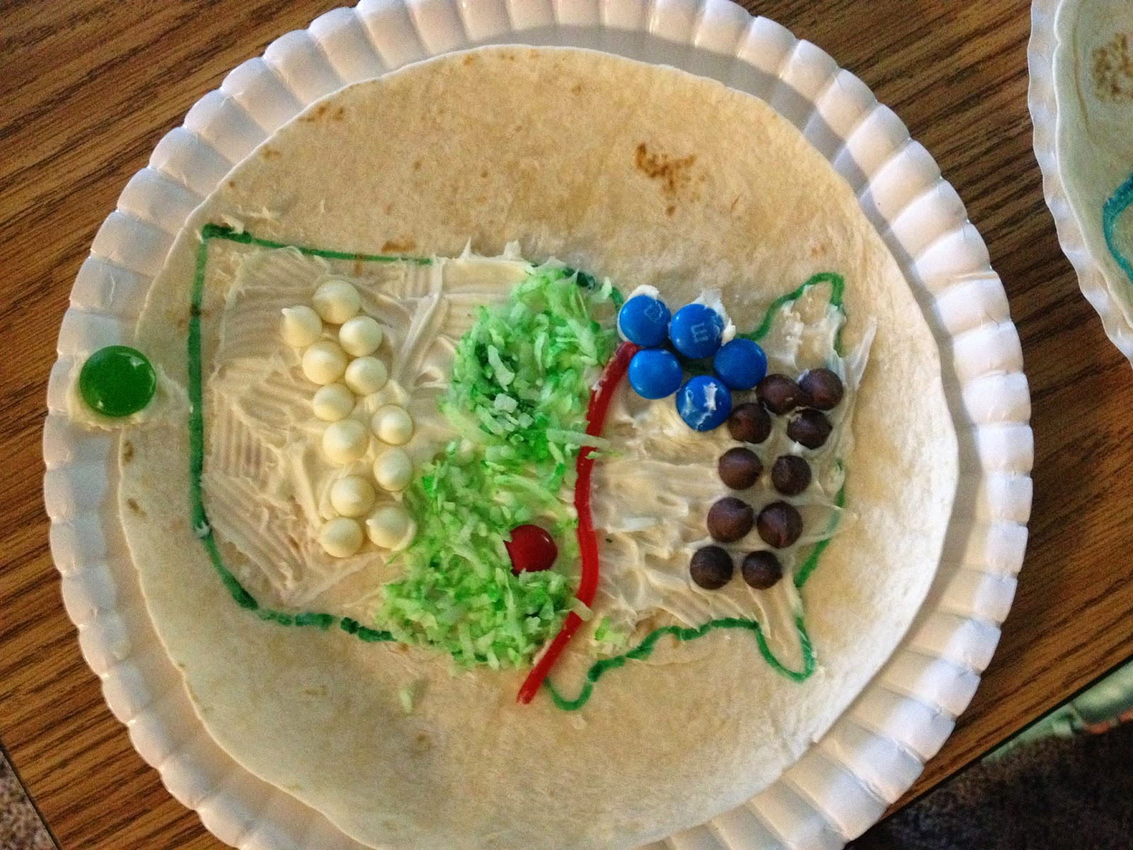 Simply Second Grade Edible Landforms Project