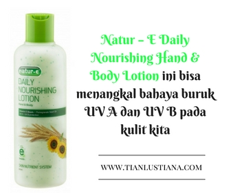 Natur – E Daily Nourishing Hand & Body Lotion