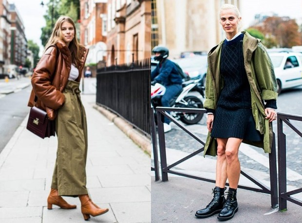 Street Style Trends Military Trend Winter 2019
