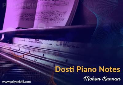 Dosti Junglee Piano Notes