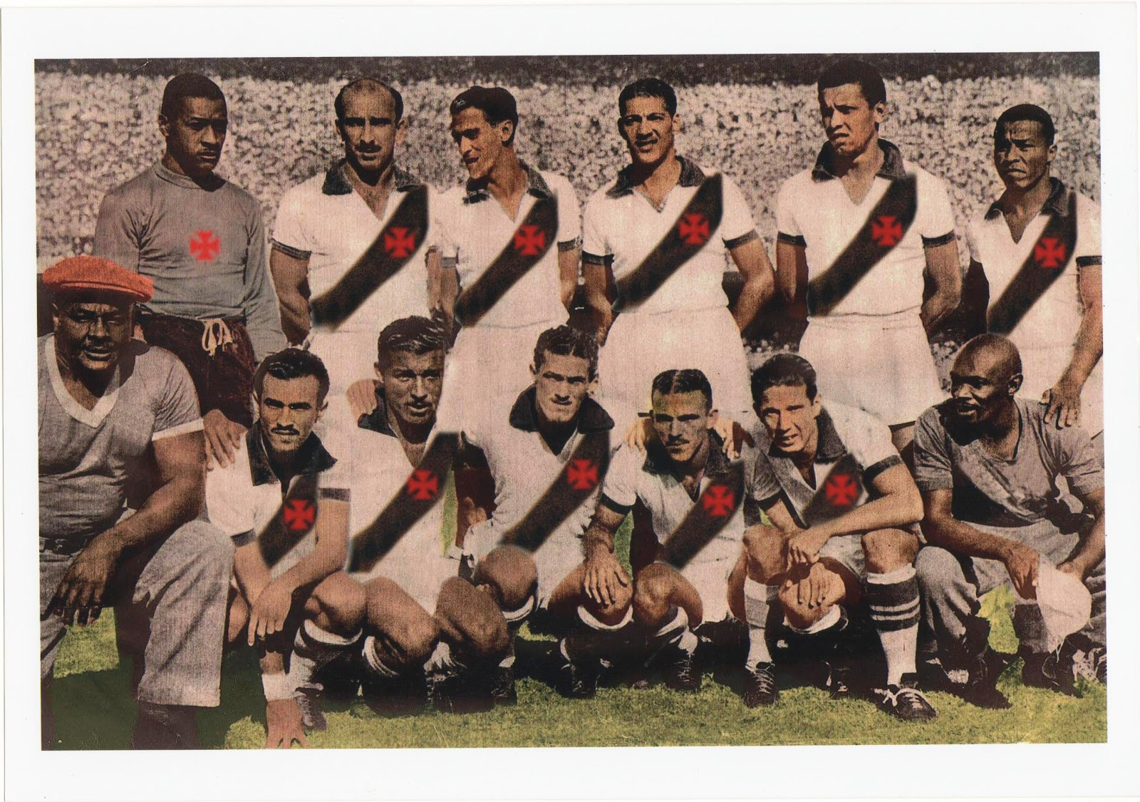 Como o Vasco era a base da Seleção Brasileira vice-campeã da Copa do Mundo  -1950 b86b0edc36f95